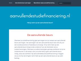aanvullendestudiefinanciering.nl